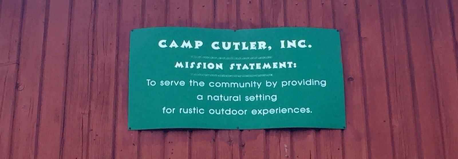 Camp Cutler Mission
